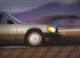 1991 Mercedes-Benz 190E 2.3 2.6 brochure catalog US 91 - $12.00