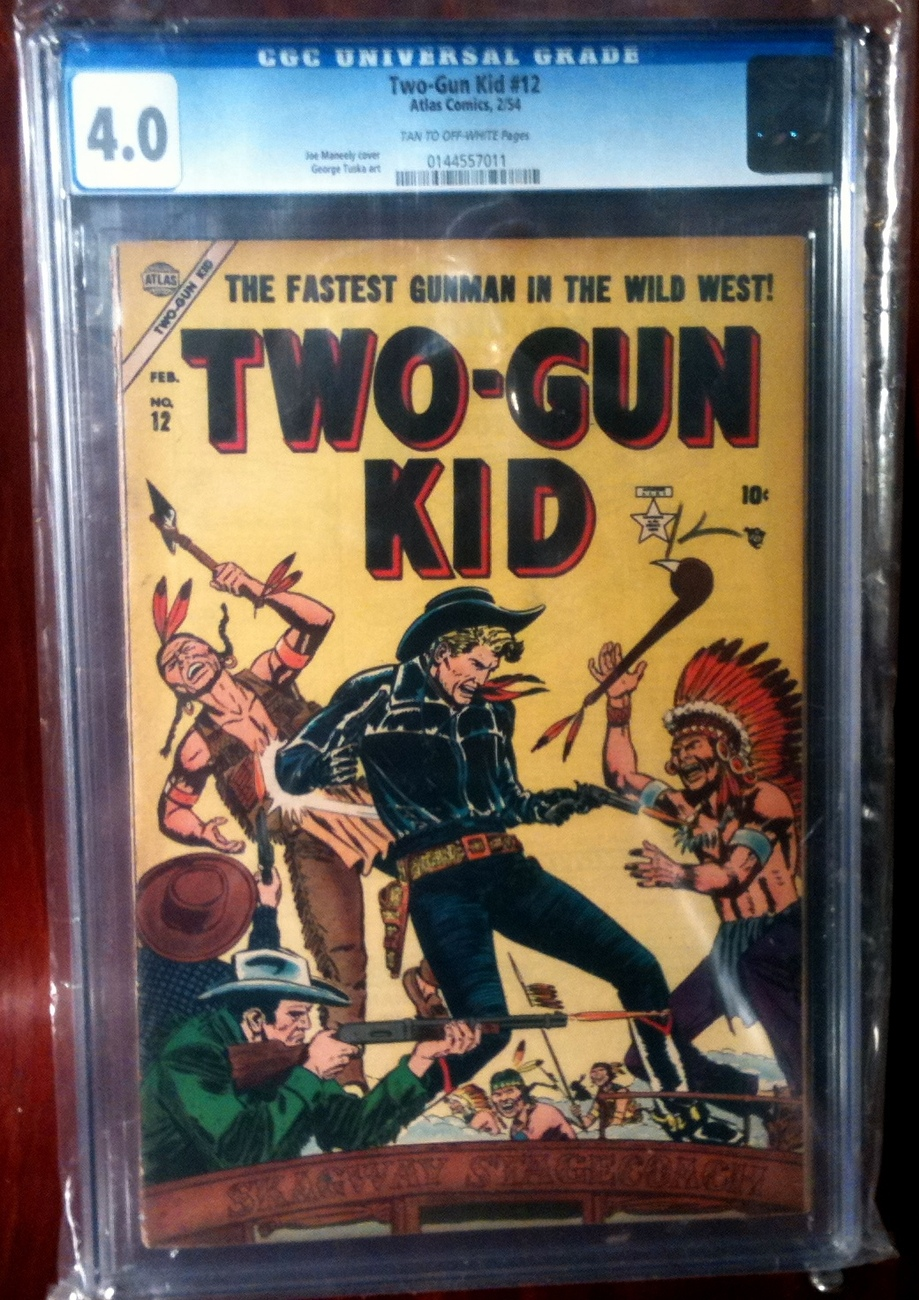 Two Gun Kid # 12 CGC Graded 4.0 VG