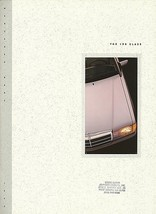 1993 Mercedes-Benz 190E 2.3 2.6 brochure catalog US 93 - $8.00