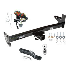 Trailer Hitch For 98-01 Passport Rodeo w/Door Spare Package w/ Wiring & ... - $237.75