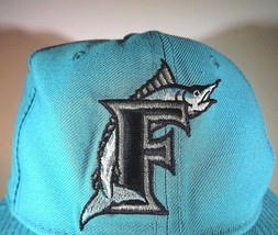 Florida Marlins New Era 5950 Diamond Collection Vintage Wool Cap Size 6 7/8 - $24.70