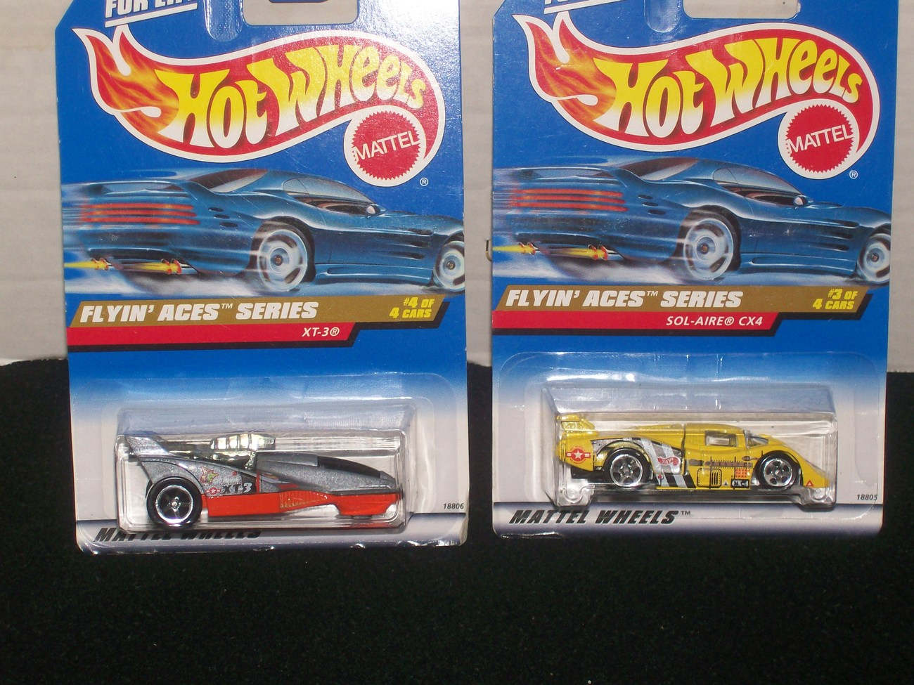 Hot Wheels 1998 Flyin' Aces Series Complete Set Of 4