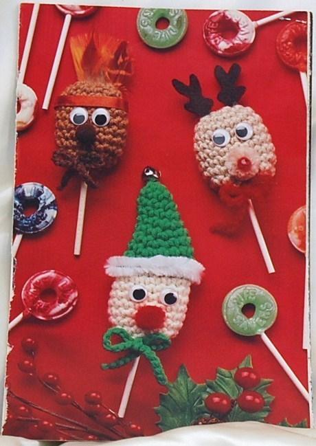 Musical Snowman & Lollipop Characters Crochet Patterns
