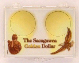 Sacagawea - Small Dollar 2X3, Snap Lock Coin Holder, 3 pack - $5.89
