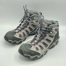 Oboz Sawtooth II Mid B-Dry Waterproof Hiking Boot Pewter Women's Size 10 M - $59.99