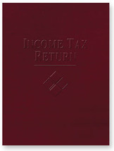 Income Tax Return Folder - Embossed  - $78.59
