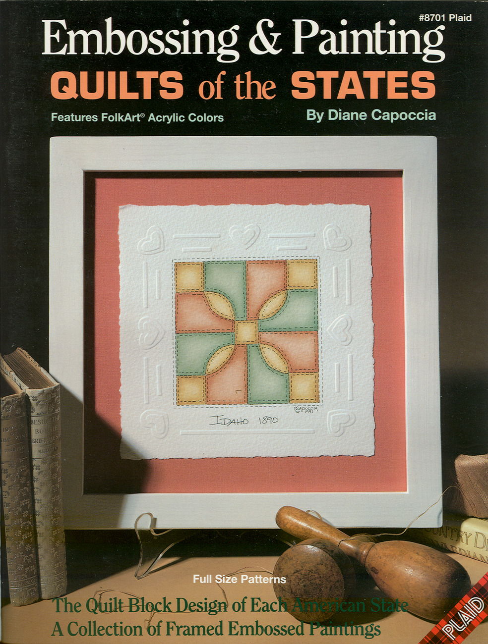 (3) QUILT BOOKS:Early American Patchwork Patterns+STATE QUILTS+QUICK QUILTING BA