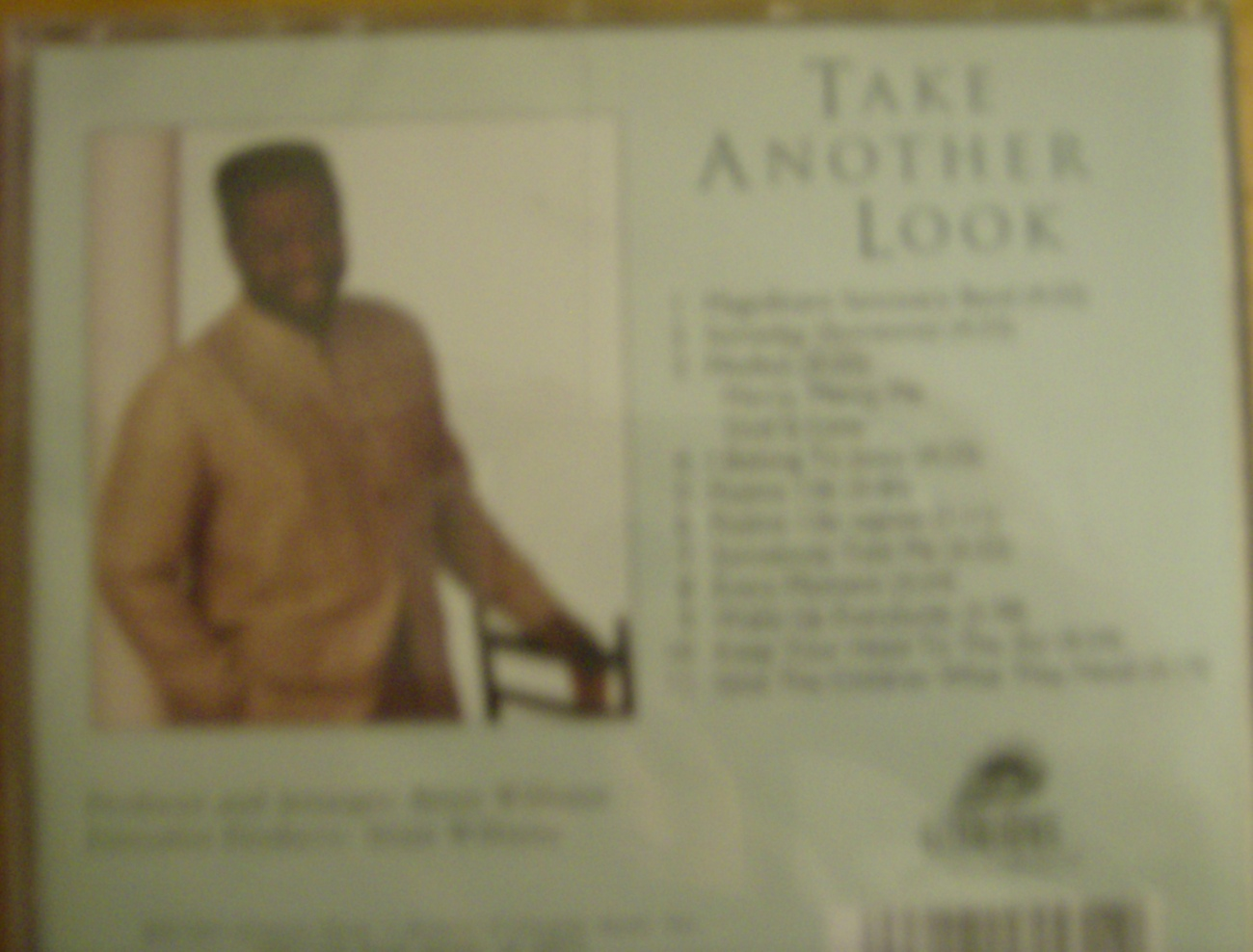 Brian Williams-Take Another Look music cd gospel