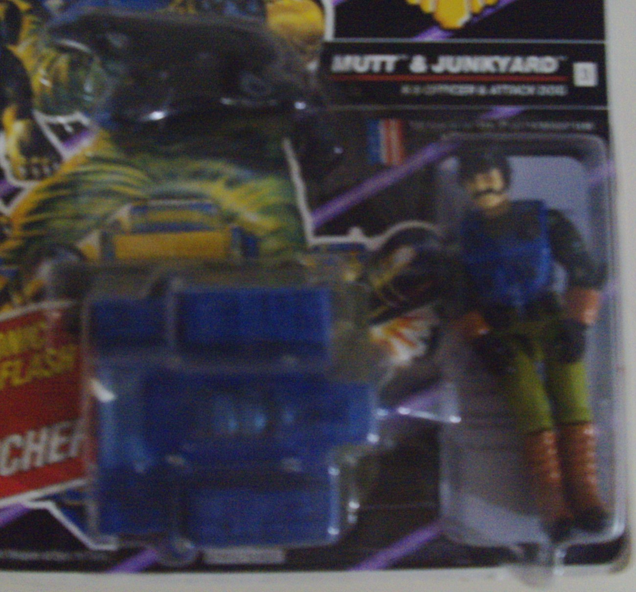 G.I. Joe A Real American Hero ARAH Mutt & Junkyard D.E.F. Drug Elimination Force
