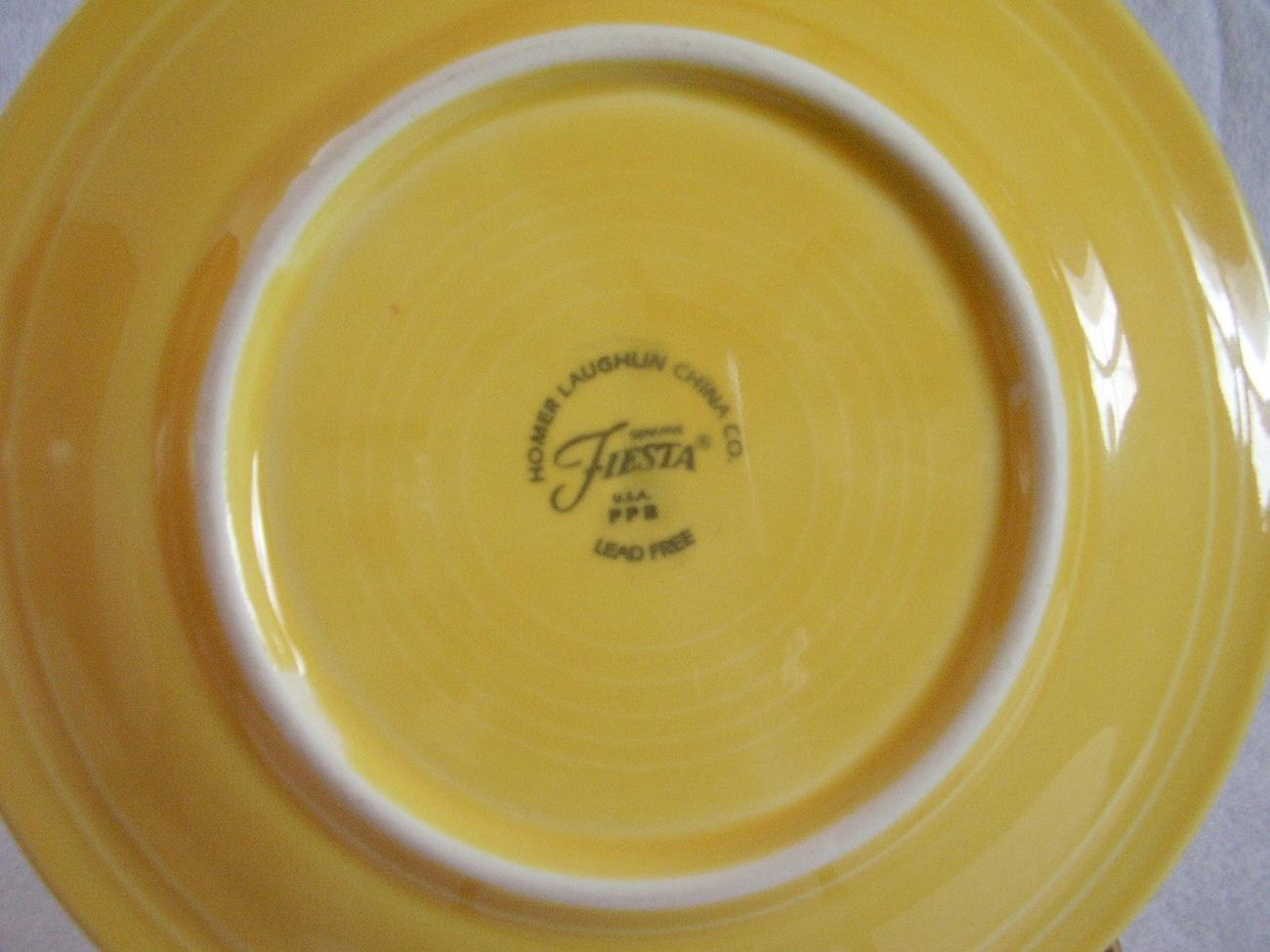 Fiestaware Sunflower Salad Plate Fiesta  W