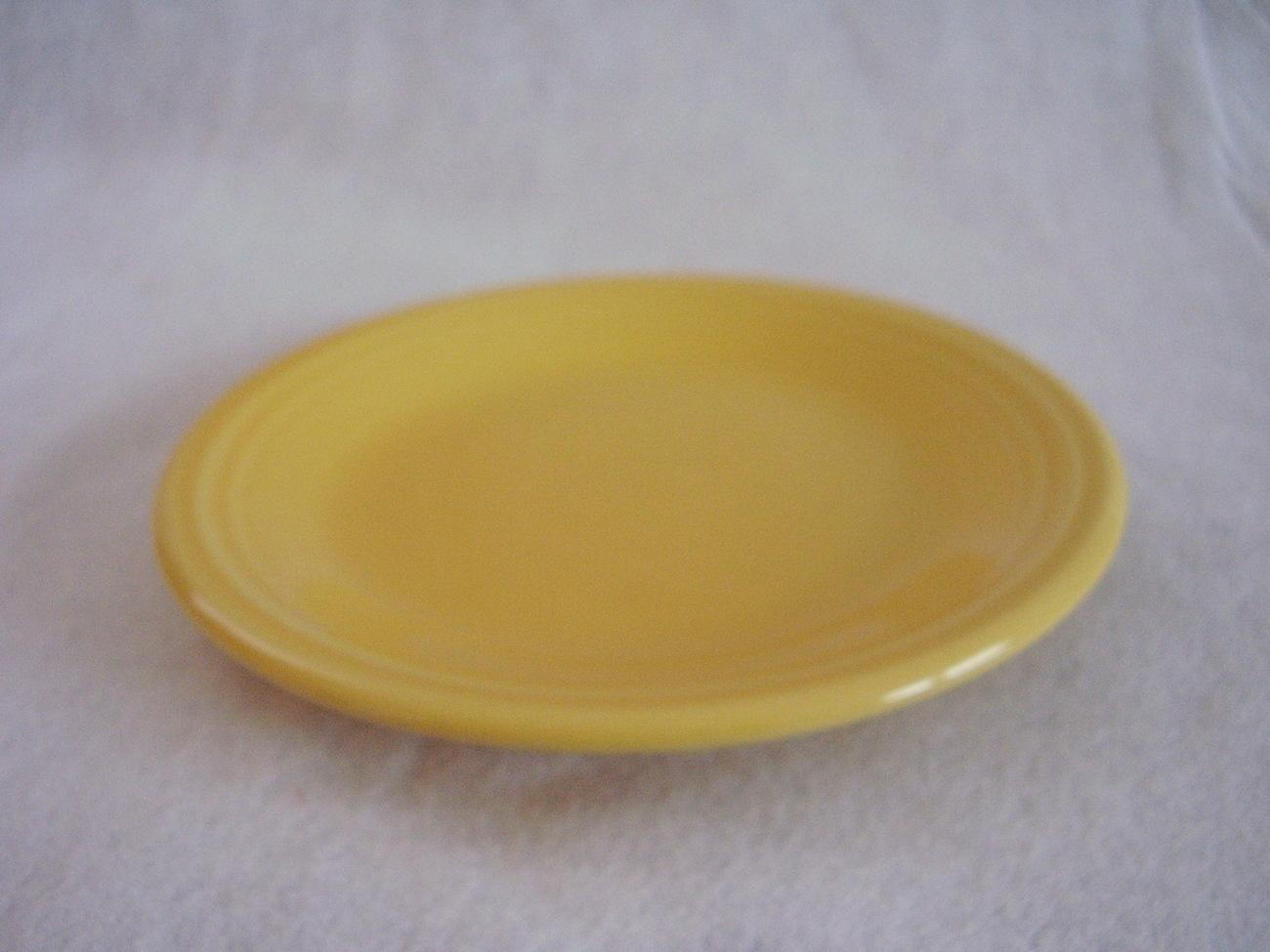 Fiestaware Sunflower Salad Plate Fiesta  Y
