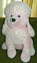 "Dan Dee Pink Sitting Poodle Plush 24"" - $27.13"