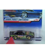 1998 First Edition Mustang Cobra Error Car/s # 18 Of 40 - $19.00