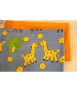 Giraffe Fleece Fabric for Small Doll Blanket - $6.50