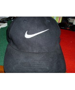 NIKE  Vintage  Black Mens Golf  Baseball Cap one size fits al - $5.00