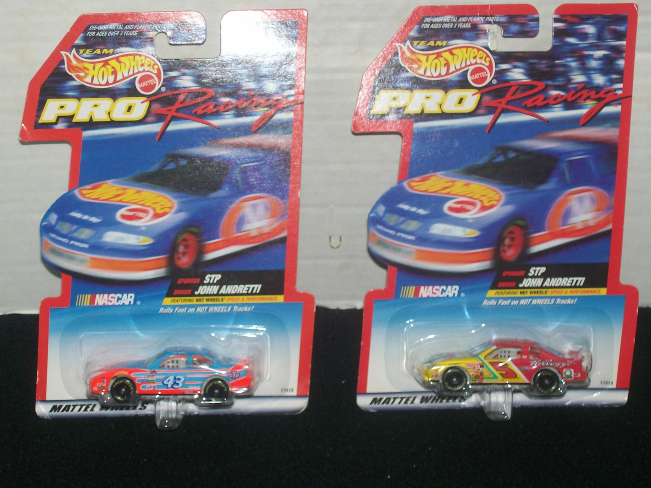 Hot Wheels Pro Racing Error Cars In The Same Package But, Different Cars