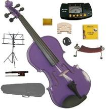 1/8 Size Purple Violin,Case,Bow,Rosin,2 Bridges,Tuner,Shoulder Rest,Stand,Mute - $60.00