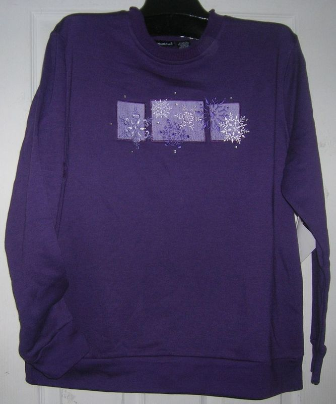 NEW LADIES/WOMEN HOLIDAYGIFT IDEA TOP FLEECE SZ:16-18W