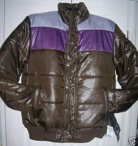NEW MENS/WOMEN WINTER JACKET QUILTED PUFFER SIZE:XL