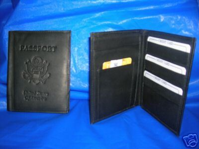 NEW PASSPORT COVER  HIGH QUALITY LEATHER FREE SHIPPING!