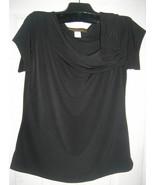 NEW WOMEN LADIES PLUS SIZE CLOTHING SEXY BLACK TOP 1XL - $16.27