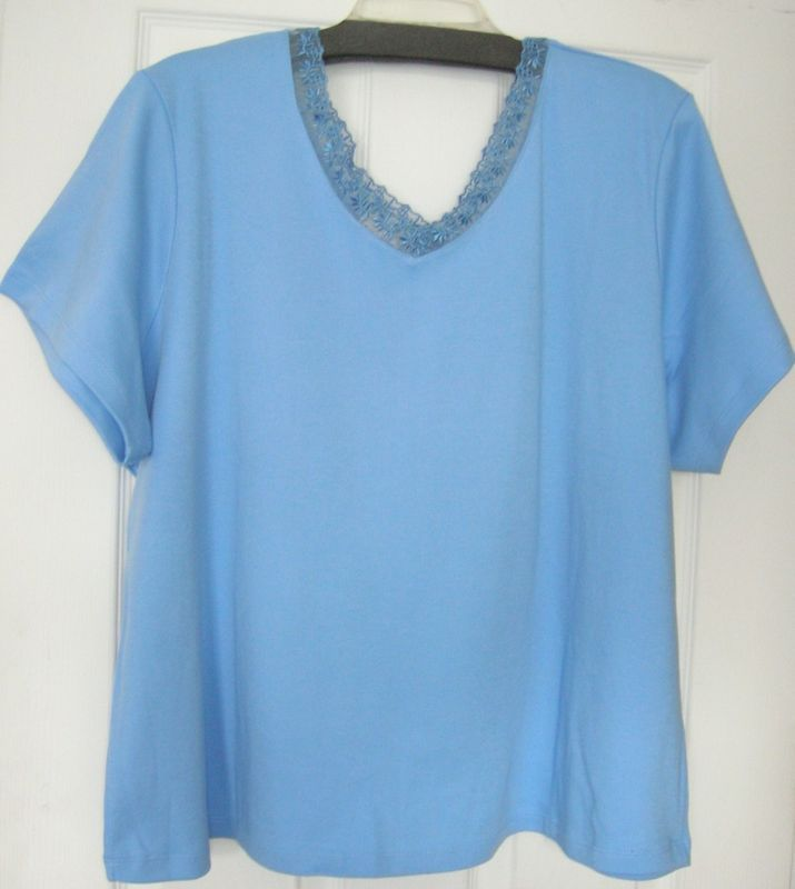 NEW WOMEN LADIES PLUS SIZE TOP  SHIRT BLOUSE SIZE 3XL