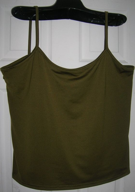 NEW WOMEN/LADIES SPAGHETTI STRAP TANK TOP CAMIS 22-24