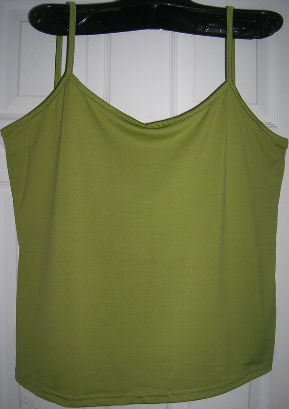 NEW WOMEN/LADIES SPAGHETTI STRAP TANK TOP CAMIS TOP 2X