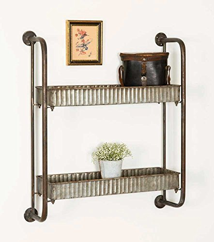 Industrial Vintage Style Retro Small Wall Shelves