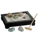 MINI ZEN GARDEN Relaxing Meditation Desk Table Top NEW GIFT Feng Shui Re... - $18.95