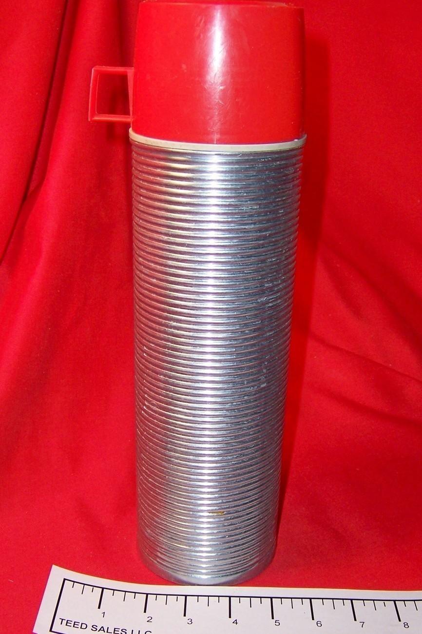 Vintage Chrome quart Thermos Bottle 2484 - $25.39