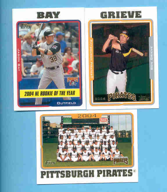2005 Topps Pittsburgh Pirates Baseball Team Set