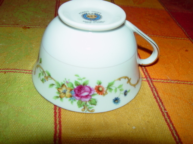KONGO CHINA S.T.S HAND PAINTED CUP