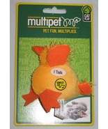 Cat Toy Multipet Look Who's Talking CHICKEN NEW - $2.99