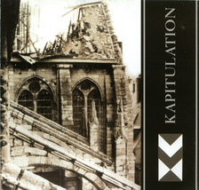 Nocturne - Kapitualtion CD Militant Industrial Dark Ambient - $10.00