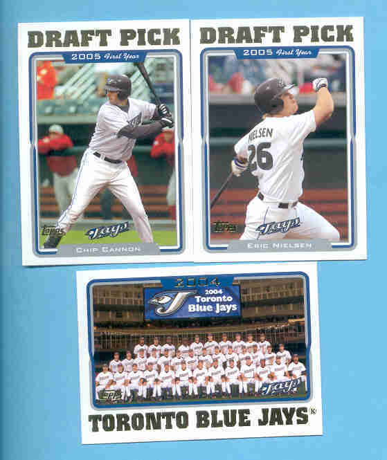 2005 Topps Toronto Blue Jays Baseball Set