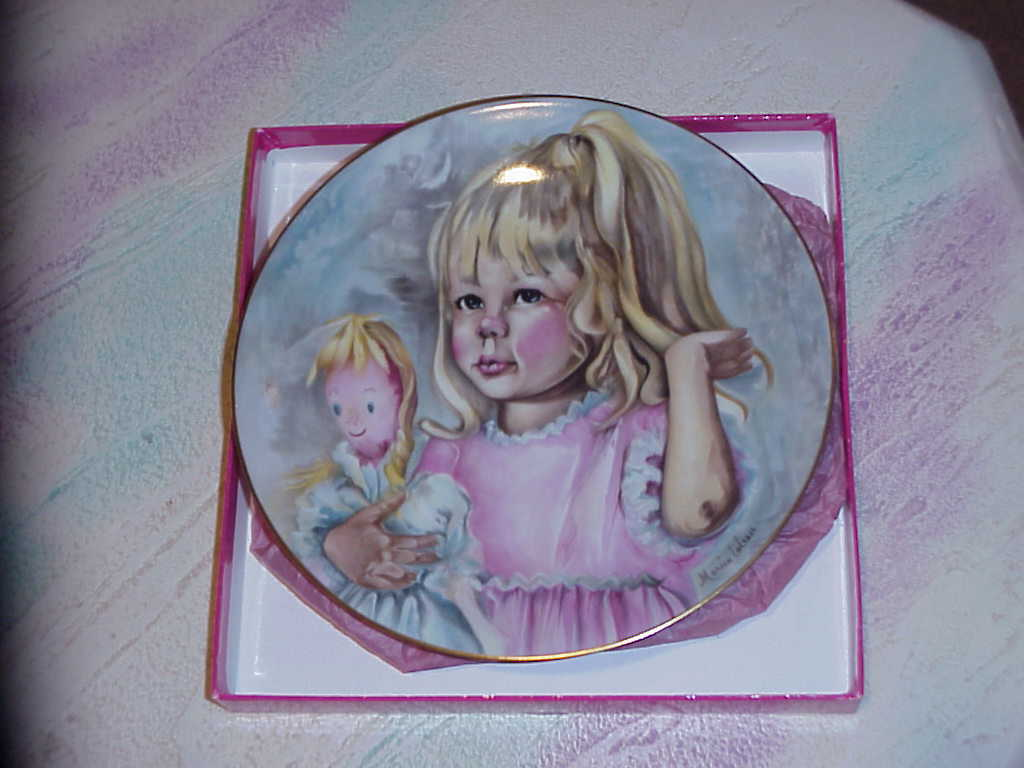 Copy of plate  p  pinky   baby