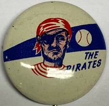 Vintage 1950 Pittsburgh Pirates Pennsylvania Baseball 3/4 Inch Pin Pinba... - $14.80