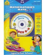 Math Educational CD Workbook age 5 6 School Zone Homeschool Arithmetic B... - $7.93