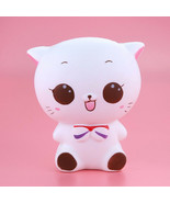 Squishy Kitty Cat Doll Slow Rising Squeeze Stress Reliever Kids Toy Phon... - $7.30