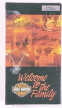 Harley Davidson - Welcome to the Family VHS 99440-02 slightly used - $14.50