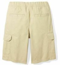 Brand - Spotted Zebra Boys' Big Kid Cargo Shorts, Light Khaki, Size XS image 2