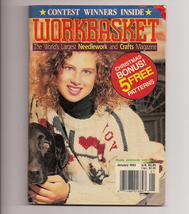 Workbasket World's Needlework & Crafts Magazine Jan 1993 - $2.00