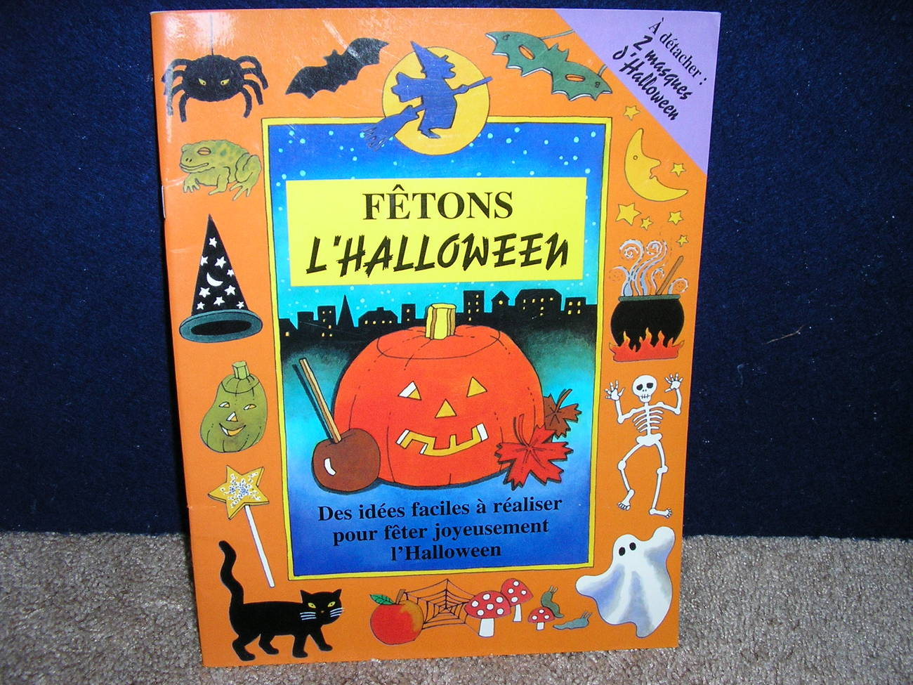 Fetons l'Halloween by Clare Beaton