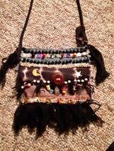 Hand sewn Bohemian style sunshine purse - $40.00