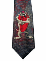 Vtg Looney Tunes Tasmanian Devil Necktie Tie 1992 Made In Usa - $5.45