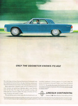 Vintage 1962 Magazine Ad Lincoln Continental Warrented Twice As Long As Others - $5.93
