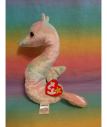 Vintage 1999 Ty Beanie Baby Retired Neon the Seahorse w/ Tags - $3.91