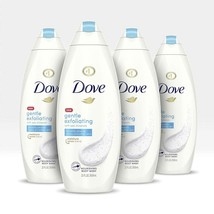 Dove Body Wash For Dull Skin Gentle Exfoliating Sulfate Free Bodywash 22... - $30.99