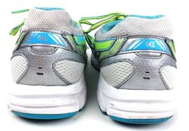 Asics Womens Gel Contend 2 Running Shoes Size 9.5 Sneakers T474N Silver Teal image 6